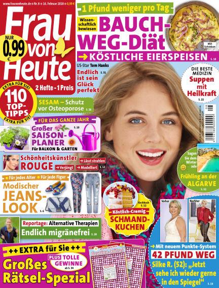 FRAU von HEUTE February 16, 2018 00:00