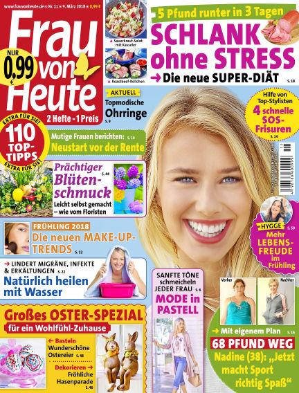 FRAU von HEUTE March 09, 2018 00:00