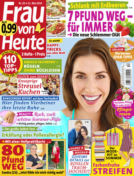FRAU von HEUTE May 11, 2018 00:00