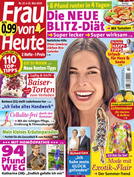 FRAU von HEUTE May 25, 2018 00:00
