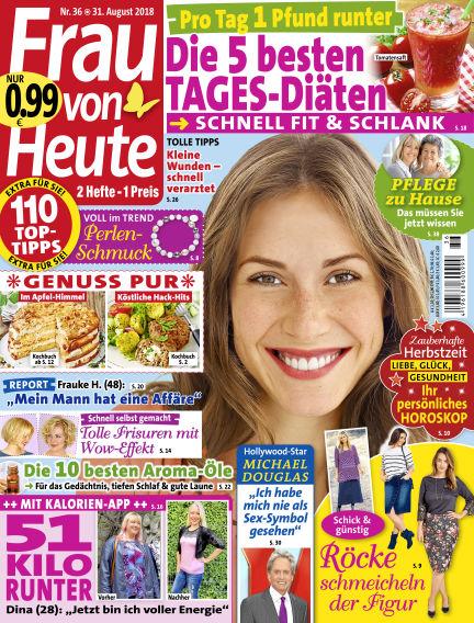 FRAU von HEUTE August 31, 2018 00:00