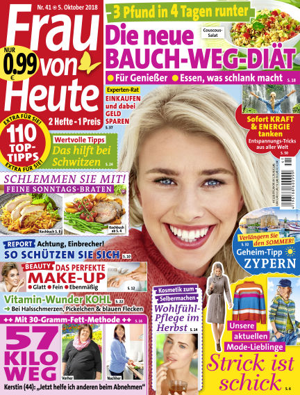 FRAU von HEUTE October 05, 2018 00:00
