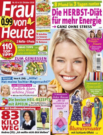 FRAU von HEUTE October 19, 2018 00:00