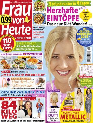 FRAU von HEUTE NR52-18/01-19