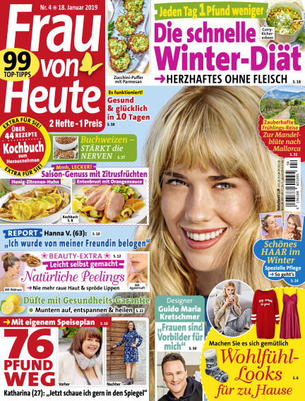FRAU von HEUTE January 18, 2019 00:00
