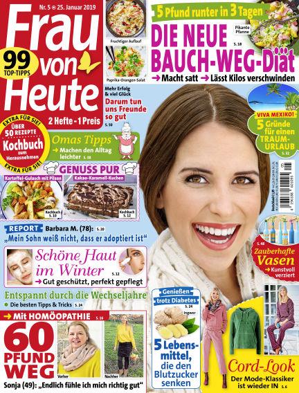 FRAU von HEUTE January 25, 2019 00:00