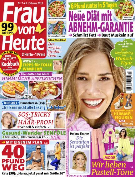 FRAU von HEUTE February 08, 2019 00:00