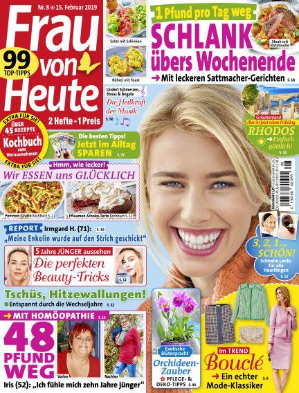 FRAU von HEUTE February 15, 2019 00:00