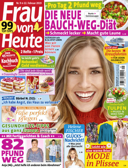 FRAU von HEUTE February 22, 2019 00:00