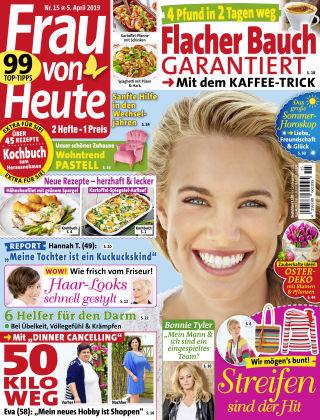 FRAU von HEUTE NR15-19
