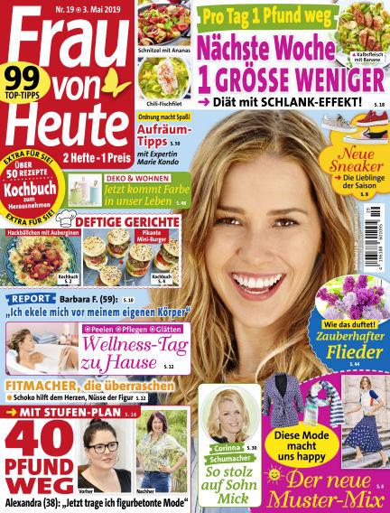 FRAU von HEUTE May 03, 2019 00:00