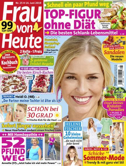 FRAU von HEUTE June 14, 2019 00:00