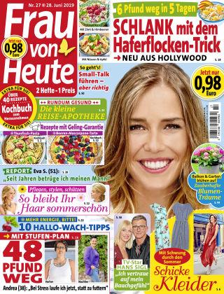 FRAU von HEUTE NR27-19