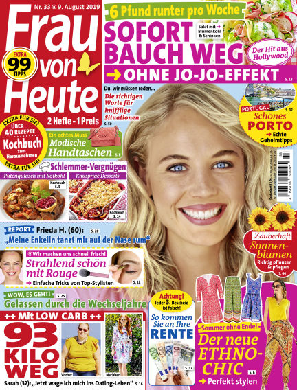 FRAU von HEUTE August 09, 2019 00:00