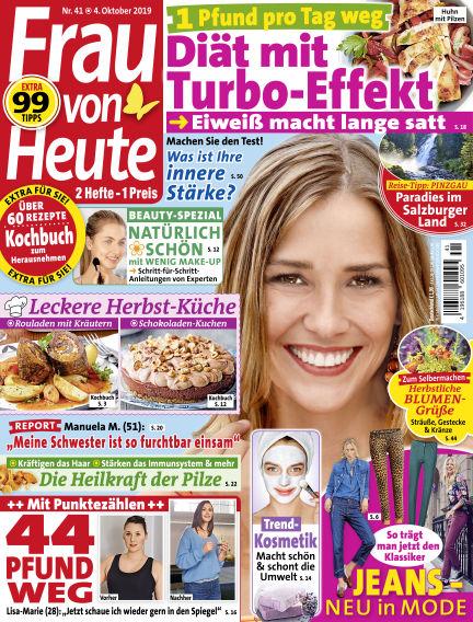 FRAU von HEUTE October 04, 2019 00:00