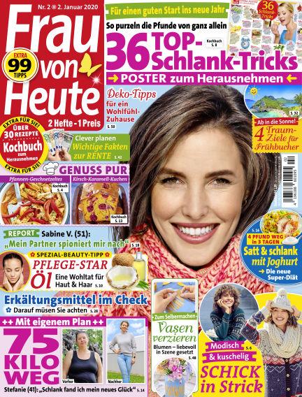 FRAU von HEUTE January 02, 2020 00:00