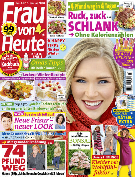 FRAU von HEUTE January 10, 2020 00:00