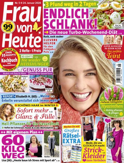 FRAU von HEUTE January 24, 2020 00:00