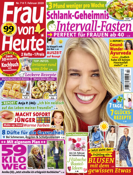 FRAU von HEUTE February 07, 2020 00:00