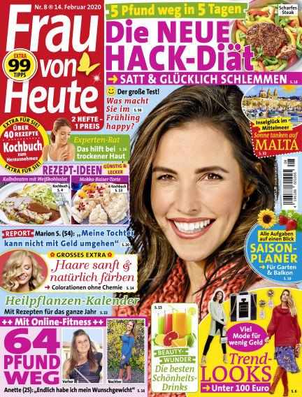 FRAU von HEUTE February 14, 2020 00:00