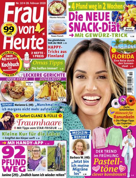 FRAU von HEUTE February 28, 2020 00:00