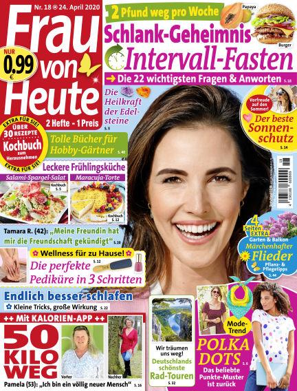 FRAU von HEUTE April 24, 2020 00:00