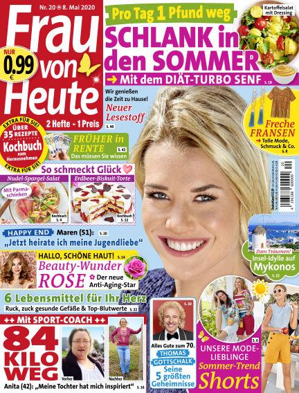 FRAU von HEUTE May 08, 2020 00:00