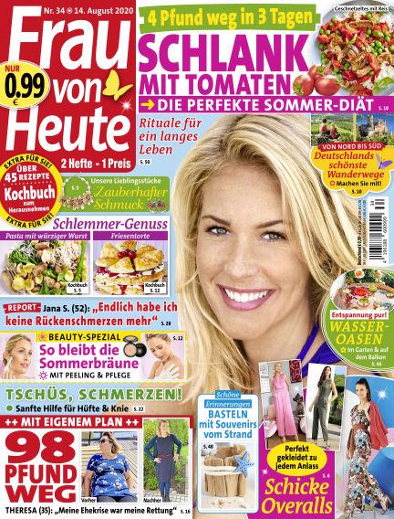 FRAU von HEUTE August 14, 2020 00:00