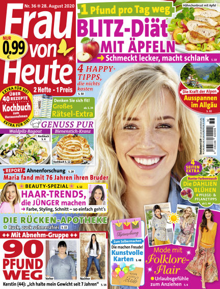 FRAU von HEUTE August 28, 2020 00:00