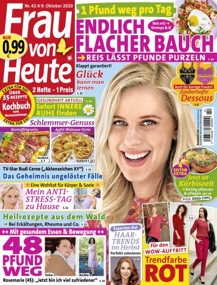 FRAU von HEUTE October 09, 2020 00:00