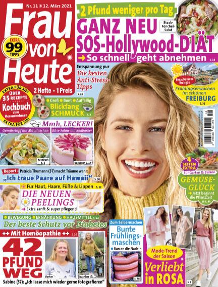 FRAU von HEUTE March 12, 2021 00:00
