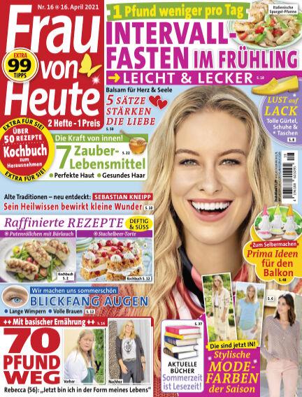 FRAU von HEUTE April 16, 2021 00:00