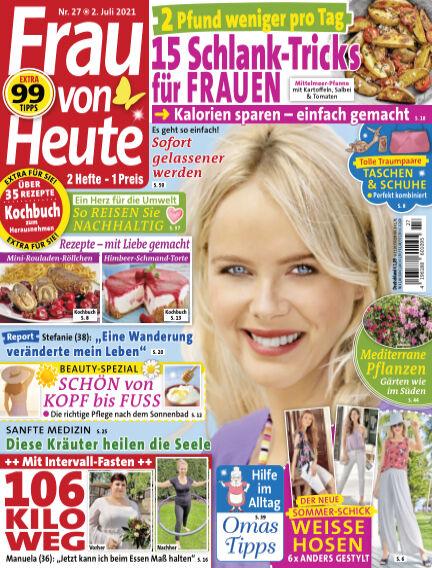 FRAU von HEUTE July 02, 2021 00:00