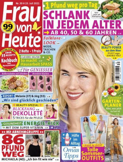 FRAU von HEUTE July 23, 2021 00:00