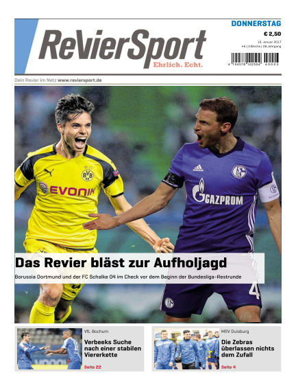 RevierSport January 19, 2017 00:00