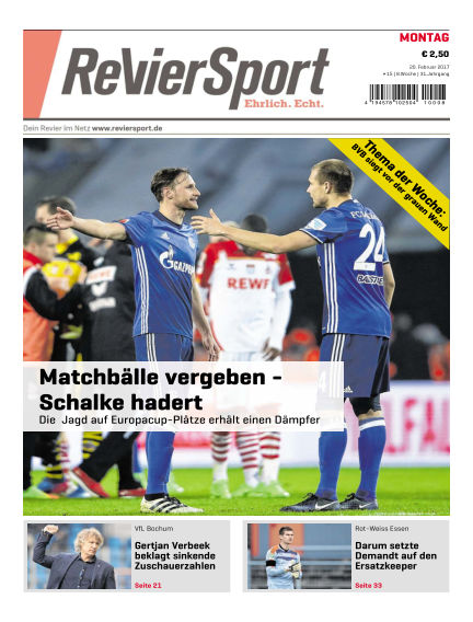 RevierSport February 20, 2017 00:00