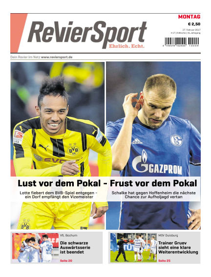RevierSport February 27, 2017 00:00