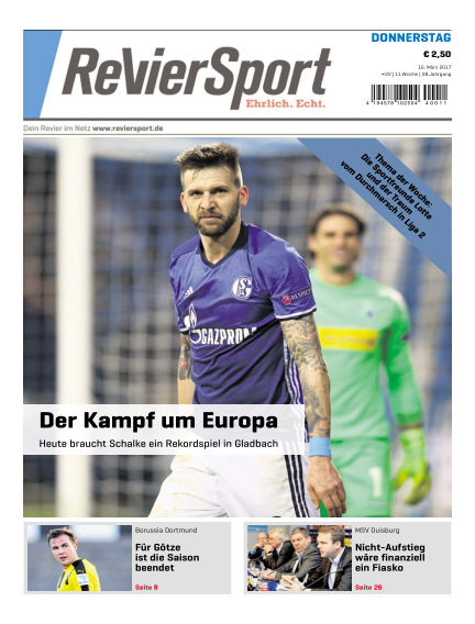 RevierSport March 16, 2017 00:00