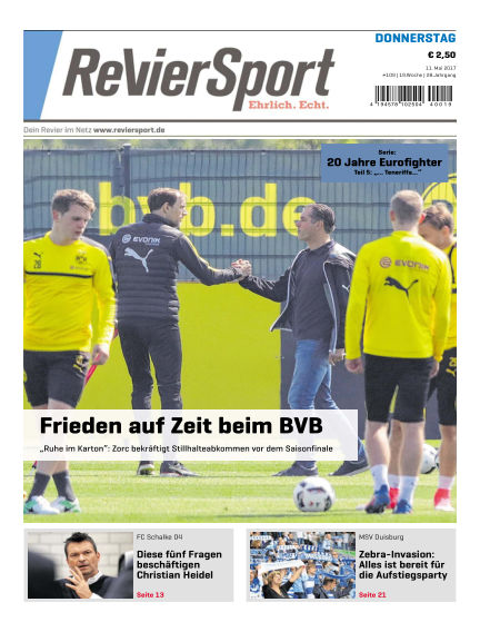 RevierSport May 11, 2017 00:00