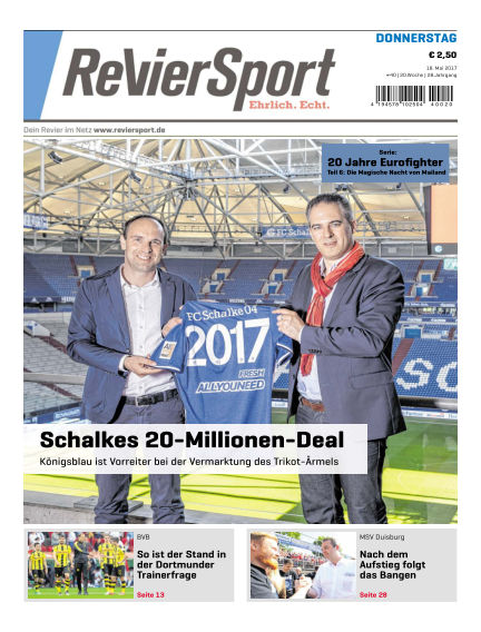 RevierSport May 18, 2017 00:00