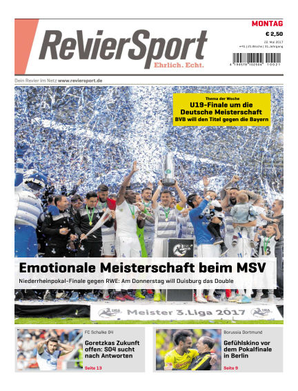 RevierSport May 22, 2017 00:00
