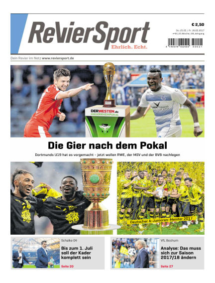 RevierSport May 25, 2017 00:00