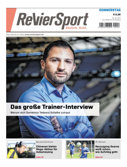 RevierSport June 29, 2017 00:00