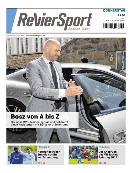 RevierSport July 06, 2017 00:00