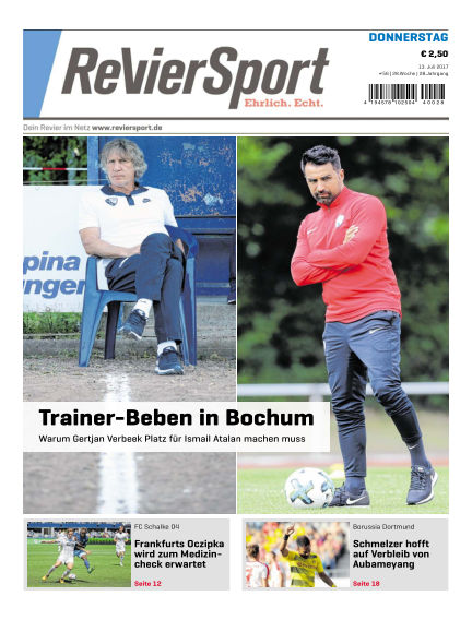 RevierSport July 13, 2017 00:00