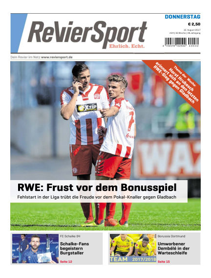 RevierSport August 10, 2017 00:00