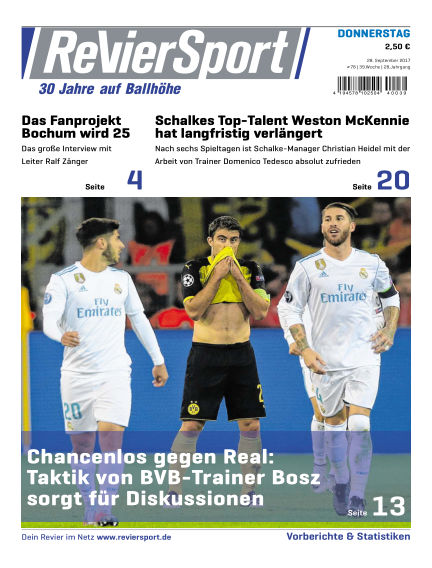 RevierSport September 28, 2017 00:00