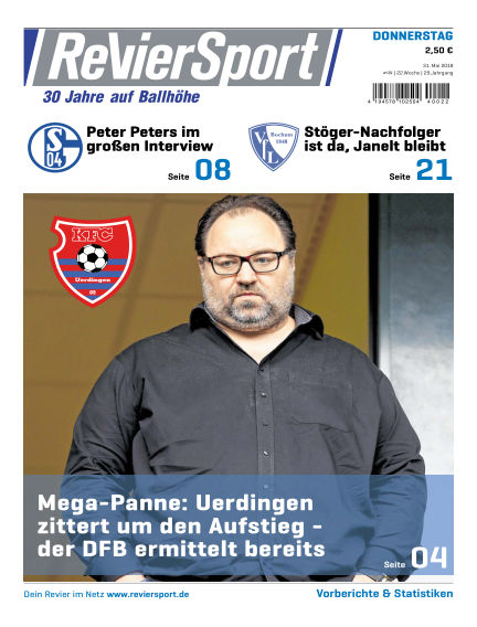 RevierSport May 31, 2018 00:00
