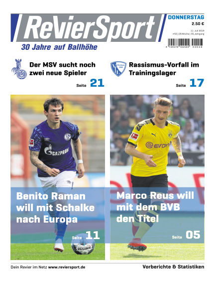 RevierSport July 11, 2019 00:00
