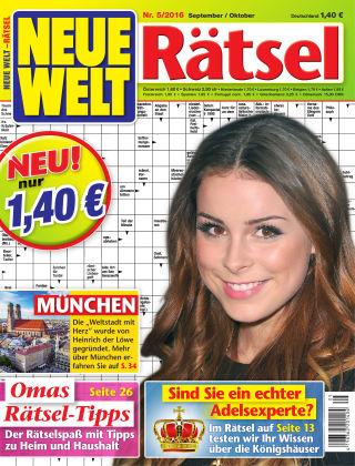 Neue Welt Rätsel Nr. 05 2016